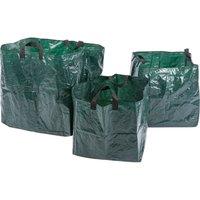 Draper 3 Piece Garden Waste Bag Set