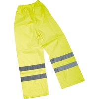 Draper Hi Vis Over Trousers M