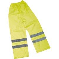 Draper Hi Vis Over Trousers 2XL