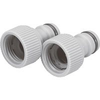Draper 1/2 BSP Garden Hose Tap Connector 26.5mm