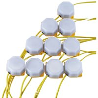 Draper 10 Piece SMD LED Festoon Site Lights Set 110v