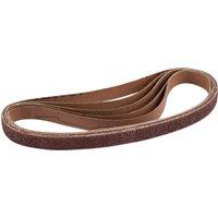 Draper 13mm x 457mm Aluminium Oxide Sanding Belts 13mm x 457mm Assorted Pack of 5