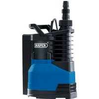 Draper SWP220IFS Submersible Water Pump and Integrated Float Switch 240v