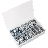 Sealey 1010 Piece Spring Washer Assortment Metric