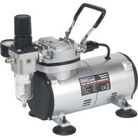 Sealey AB900 Mini Air Brush Compressor 240v