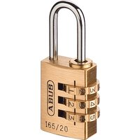 Abus 165 Series Combination Padlock 20mm Standard