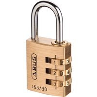 Abus 165 Series Combination Padlock 30mm Standard