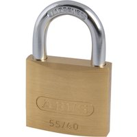 Abus 55 Series Basic Brass Padlock 40mm Standard