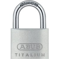 Abus 64TI Series Titalium Padlock Pack of 2 Keyed Alike 20mm Standard