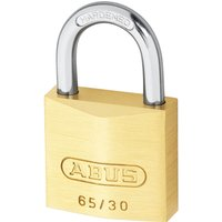 Abus 65 Series Compact Brass Padlock Keyed Alike 30mm Standard 6305