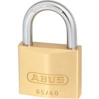 Abus 65 Series Compact Brass Padlock Keyed Alike 40mm Standard 406