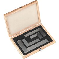 Sealey 4 Piece Precision Steel Square Set