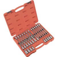 Sealey 30 Piece 1/2 Drive Hexagon Socket Bit Set Metric 1/2