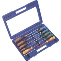 Sealey GripMAX 11 Piece Screwdriver Set
