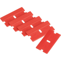 'Sealey Composite Razor Blades For Ak52507, Ak52508 And Vs500 Scrapers Pack Of 5