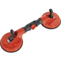Sealey Double Cup Suction Lifter Double