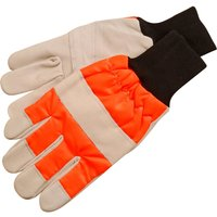 ALM Chainsaw Safety Gloves Left Hand Protection One Size