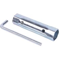ALM Double End Lawnmower Spark Plug Box Spanner 19mm x 21mm