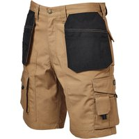 Apache Rip Stop Holster Light Weight Work Shorts Stone 34""