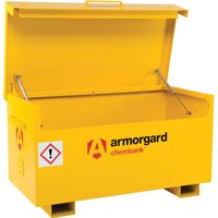 Armorgard Chembank Chemicals Secure Site Storage Box 1275mm 665mm 660mm