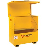 Armorgard Chembank Chemicals Secure Site Storage Box 1275mm 675mm 1270mm