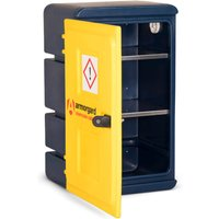 Armorgard Chemcube Plastic Secure Chemical Materials Cabinet 575mm 440mm 910mm