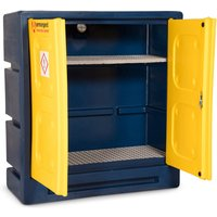 Armorgard Chemcube Plastic Secure Chemical Materials Cabinet 1220mm 550mm 1310mm