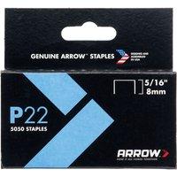 Arrow P22 Staples 8mm Pack of 5000