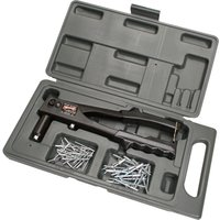 Arrow RL100K Riveter with Case & Assorted Rivets Set