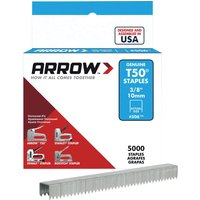 Arrow T50 Staples 10mm Pack of 5000