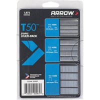 Arrow T50 Staples Multi Pack