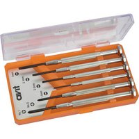 Avit 6 Piece Precision Phillips & Slotted Screwdriver Set
