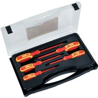 Avit 5 Piece Insulated Pozi & Slotted Screwdriver Set