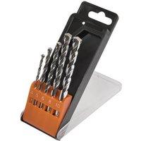 Avit 5 Piece Masonry Drill Bit Set Metric
