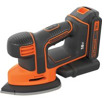 Black & Decker BDCDS18 18v Cordless Mouse Sander 1 x 1.5ah Li-ion Charger No Case