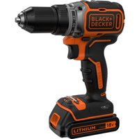 Black & Decker BL186 18v Cordless Drill Driver 1 x 1.5ah Li-ion Charger No Case