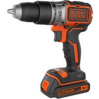 Black and Decker BL188 18v Cordless Brushless Combi Drill 1 x 1 5ah Li ion Charger No Case
