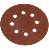 Black and Decker Piranha Quick Fit ROS Sanding Discs 125mm 125mm 40g Pack of 5