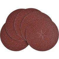 Black & Decker Sanding Discs White Alox 125mm 125mm 40g Pack of 5