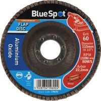 Blue Spot Flap Disc 115mm 115mm 60g