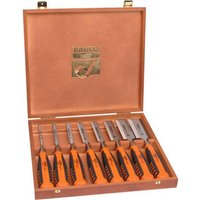 Bahco 424 8 Piece Bevel Edge Wood Chisel Set