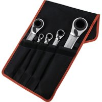 Bahco 5 Piece Reversible Ratchet Ring Spanner Set