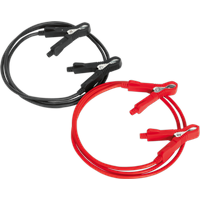 Sealey BC0515 Motorcycle Booster Cable Jump Leads 1.5m