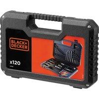 Black and Decker 120 Piece Drill  Nut Driver and Screwdriver Bit Set
