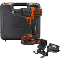 Black and Decker BCD700S 18v Cordless Combi Drill 1 x 1 5ah Li ion Charger Case