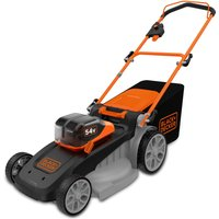 Black & Decker CLM5448PCB 54v Cordless Dualvolt Rotary Lawnmower 480mm No Batteries No Charger