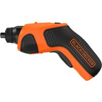 Black and Decker CS3651LC 3 6v Cordless Screwdriver 1 x 1 5ah Integrated Li ion Charger No Case