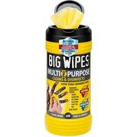 Big Wipes Antibacterial Multi Purpose Hand Cleaning Wipes Pack of 80