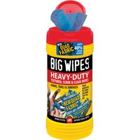 Big Wipes Red Top 4x4 Heavy Duty Hand Cleaners Pack of 80