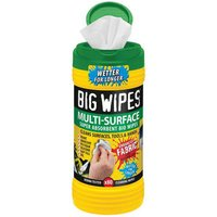 Big Wipes Antibacterial Multi Surface Hand Cleaning Wipes Pack of 80